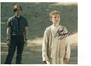 "Signed 10 x 8 Photograph of Jack Montgomery ""Young Captain Jack"" from Torchwood"
